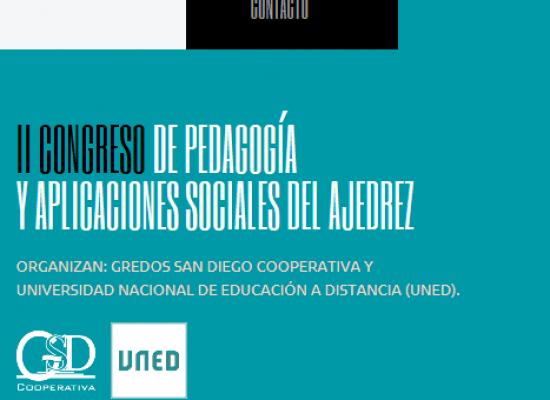 II Congreso de Pedagogía y Aplicaciones del Ajedrez (ponencias y talleres)
