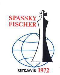 Logotipo del encuentro Spassky - Fischer por el campeonato del mundo de ajedrez 1972
