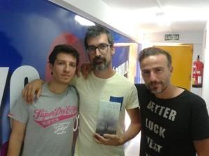 Foto Migue + Roberto + yo