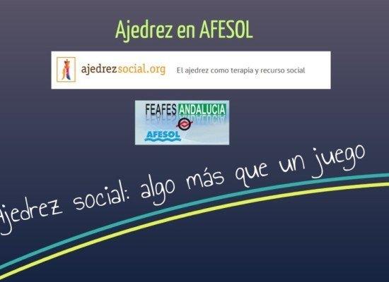 Jornada de ajedrez y salud mental en AFESOL                                (Benalmádena)