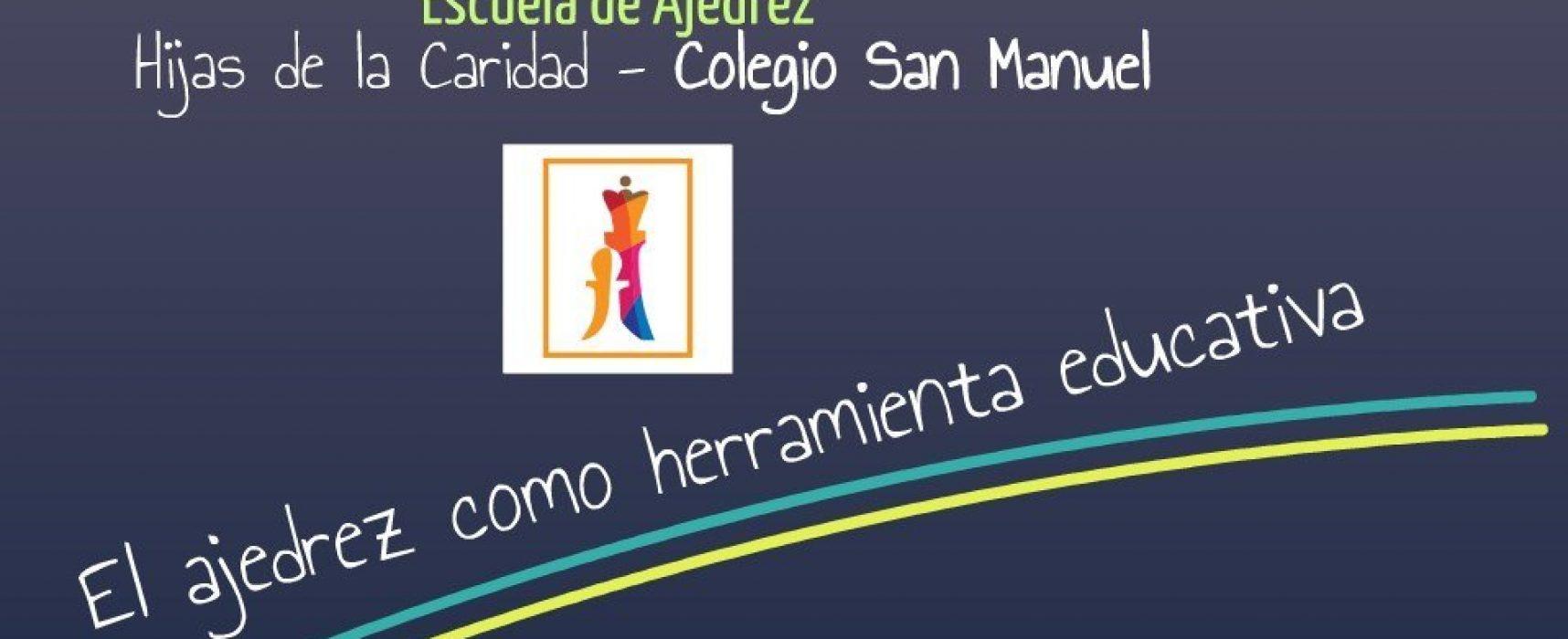 Ajedrez Social de Andalucía en la II Semana del Deporte del Colegio San Manuel (Málaga)