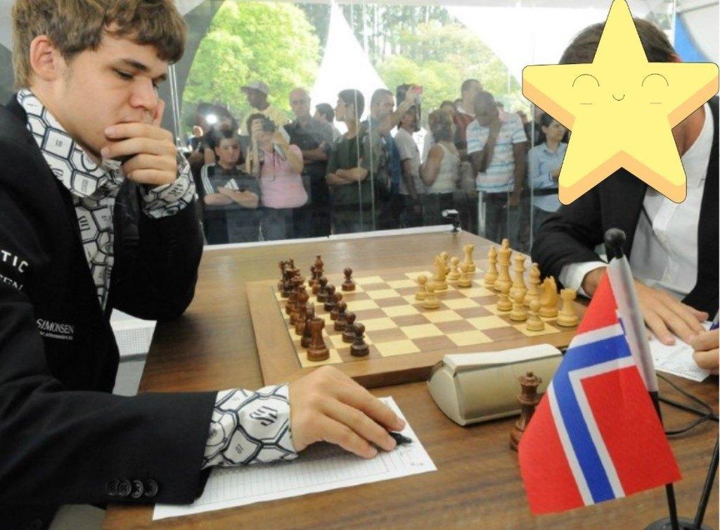 Vallejo Carlsen estrella