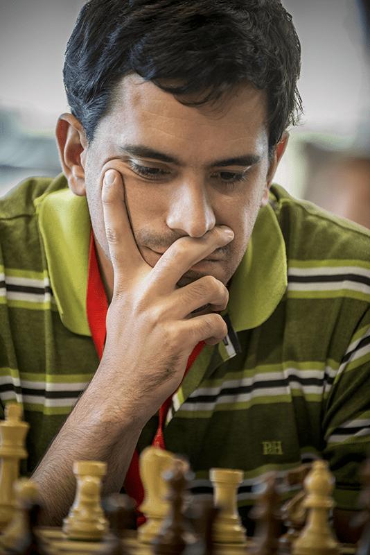 Santiago Glez. de la Torre, miembro del GrosTxake Taldea. Fotografía de David Llada sujeta a derechos de autor