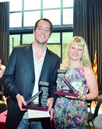 Paco Vallejo y Olga Alexandrova, Campeón y Campeona de España