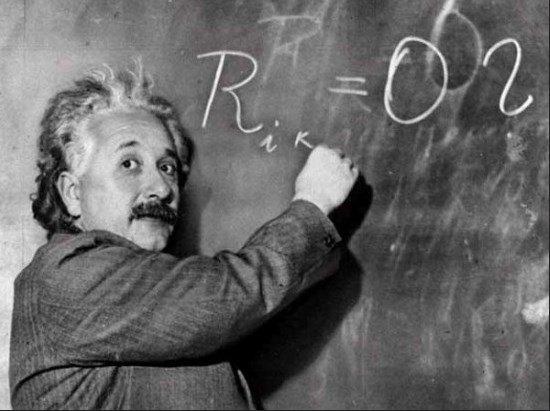 Albert Einstein, otro gran aficionado al tablero
