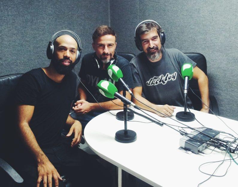 Glenn Brath, Roberto López y el maestro Azuaga