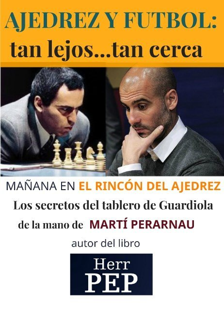 Futbol y ajedrez: tan lejos...tan cerca