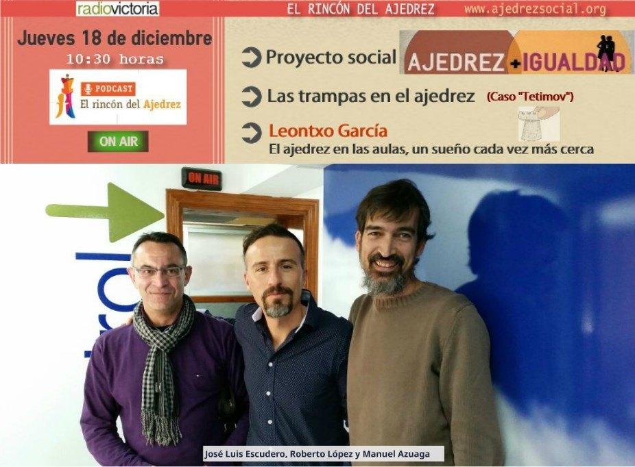 Foto Radio Ajedrez e igualdad