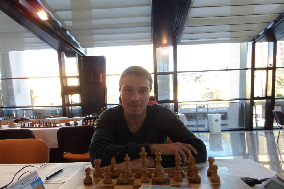 Tetimov durante el torneo de Bali (Benidorm)