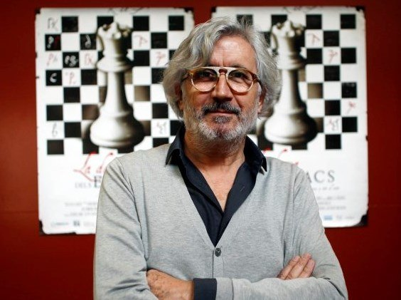 Agustí Mezquida, director de la película documental La dama del ajedrez