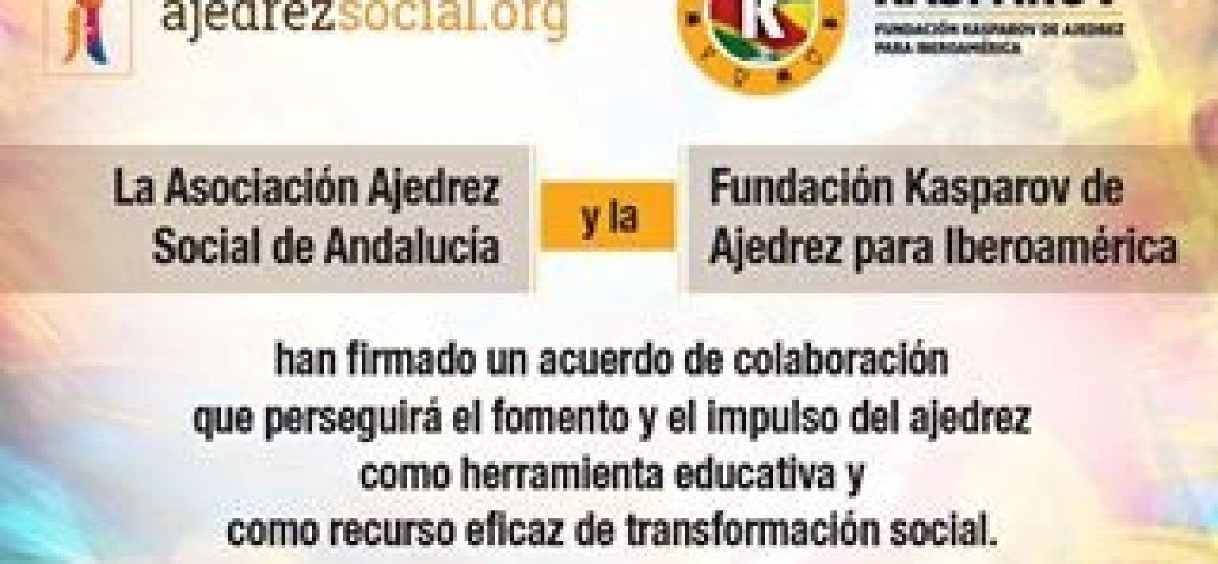 Acuerdo institucional con la Fundación Kasparov de Ajedrez