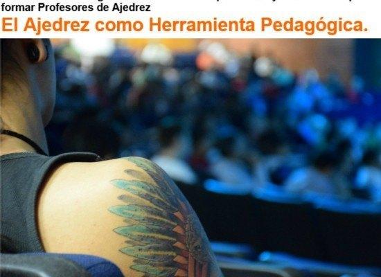 Ajedrez Social presente en México en el II Seminario de Capacitación de Profesores de Ajedrez