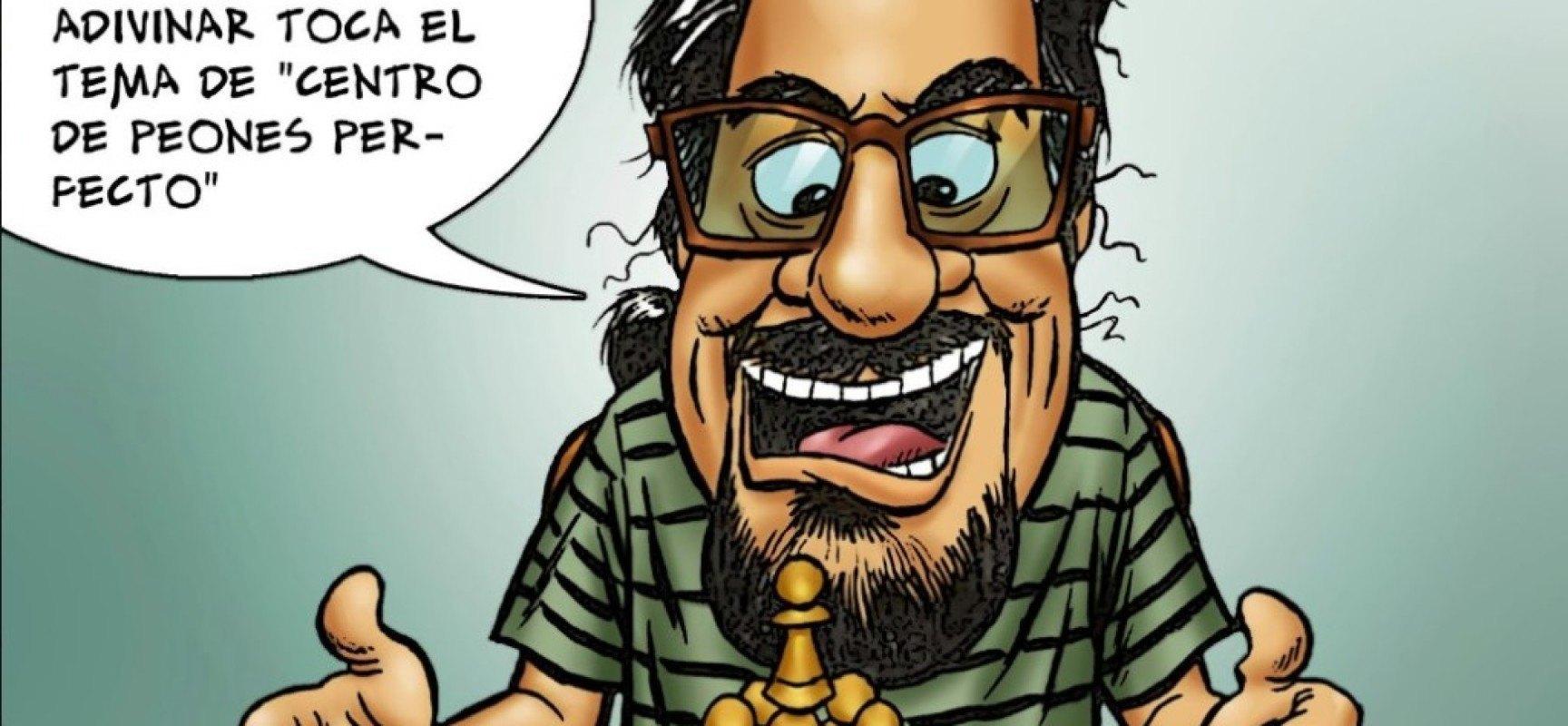 Luis Fdez. Siles (Capakhine): 'Me hubiera gustado jugar al ajedrez con El Autómata' + ICOT 2015