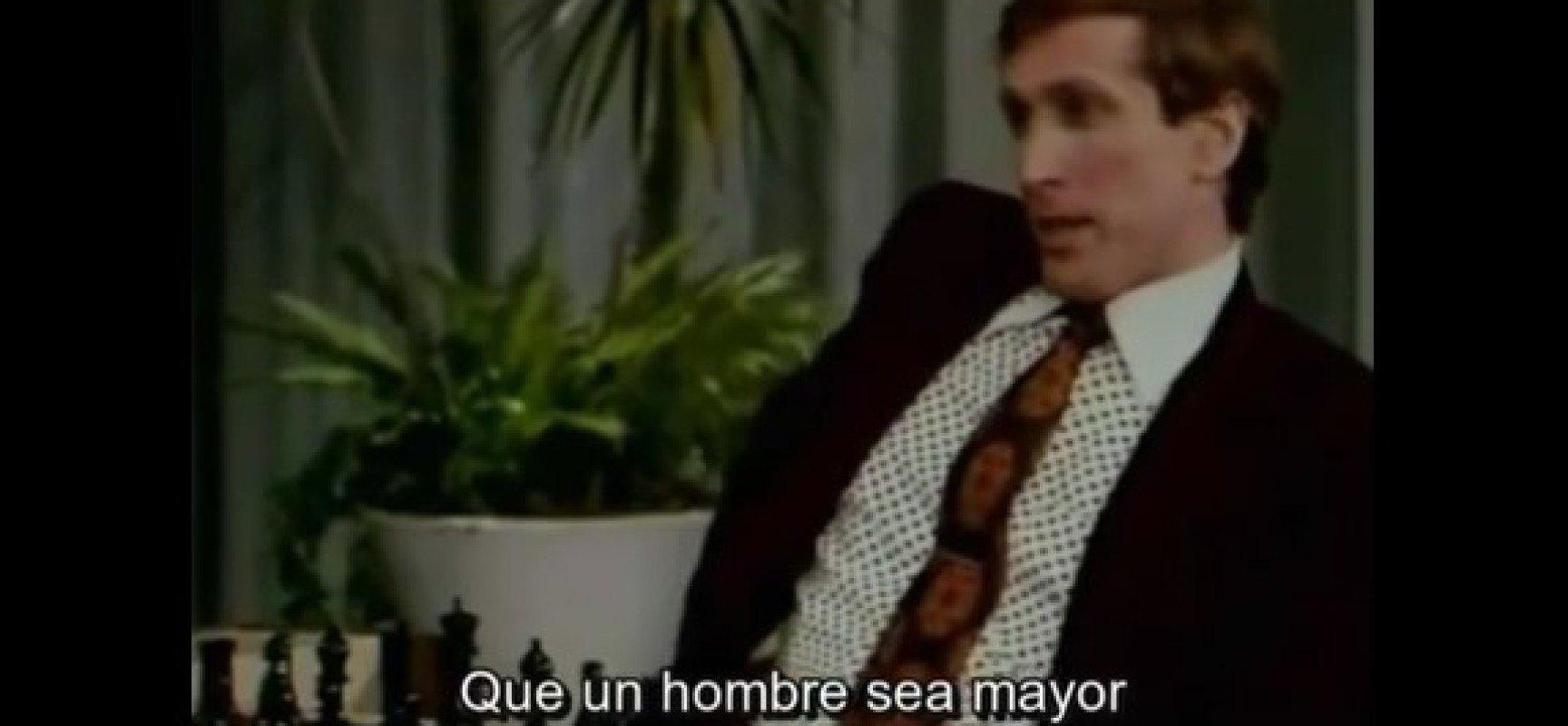 Bobby Fischer en el show de Bob Hope (Video subtitulado en español)