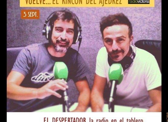 3ª temporada de El Rincón del Ajedrez, la radio en el tablero