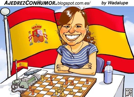 """Sabrina Vega, Campeona de España de Ajedrez: """"El ajedrez te hace pensar, algo fundamental para la vida"""" + Ramón y Cajal"""