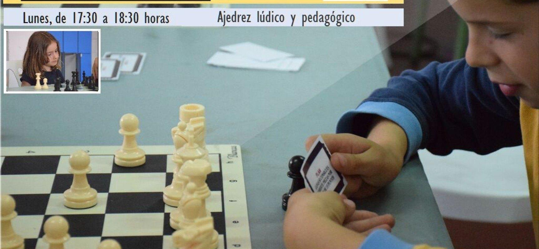 En octubre seguimos con la Escuela Municipal de Ajedrez de Rincón de la Victoria