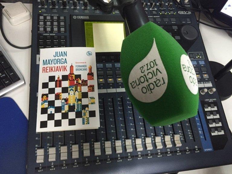 """Reikiavik en el estudio de """"El Rincón del Ajedrez"""""""