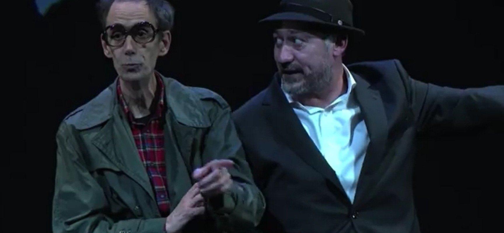 Fischer y Spasski en el Teatro Cervantes