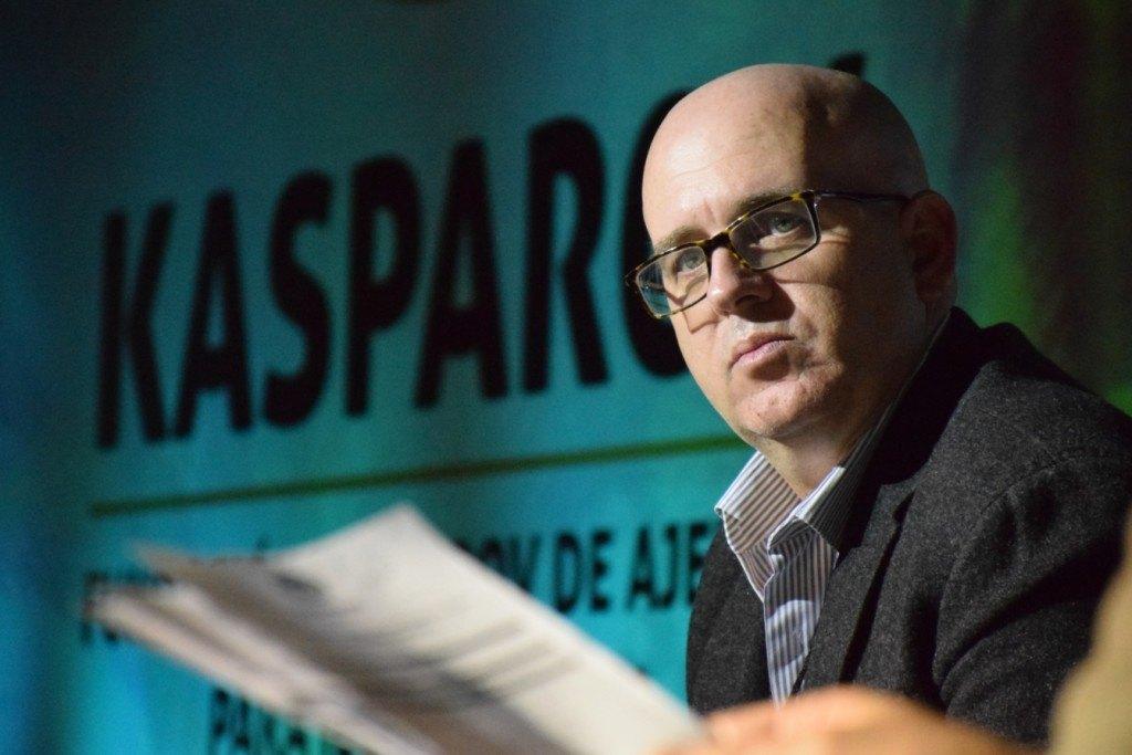 Juan Antonio Montero, durante su participación en México como ponente de la Fundación Kasparov de Ajedrez