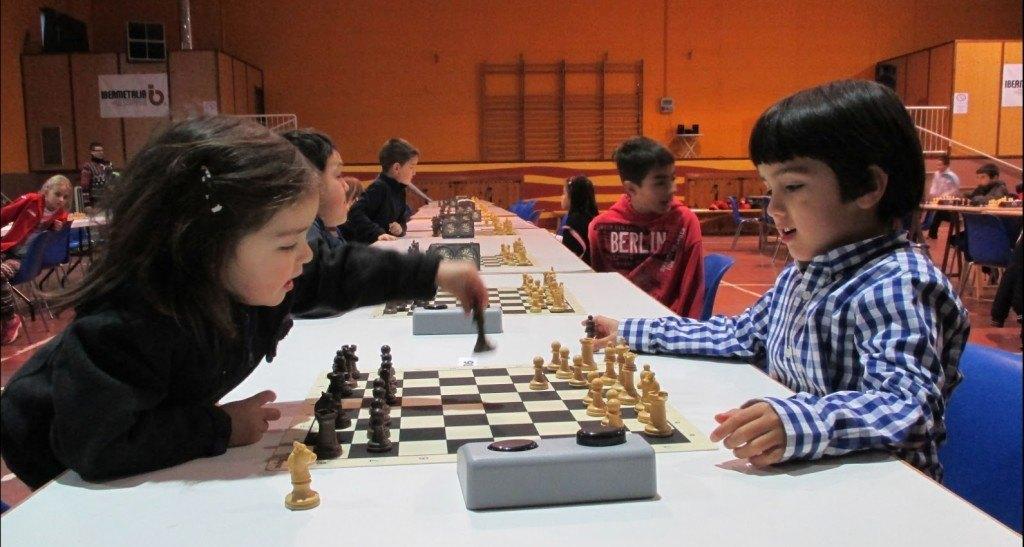 Irene Planella mientras juega una partida.
