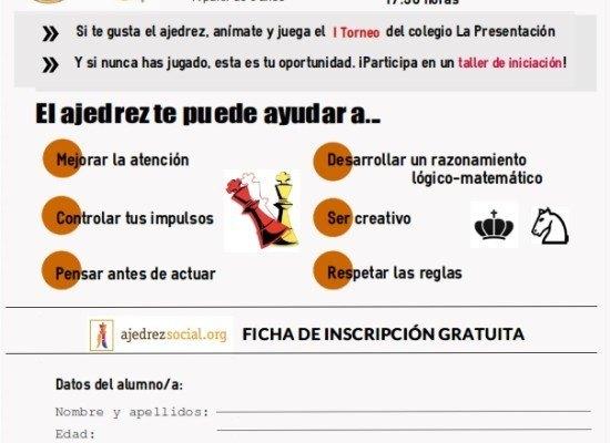 1er Torneo-Taller lúdico colegio La Presentación (Málaga)