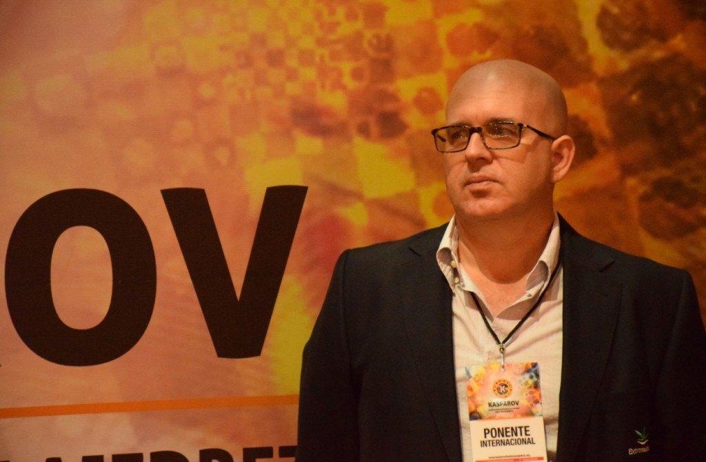 Juan Antonio Montero, ponente internacional de la Fundación Kasparov de Ajedrez