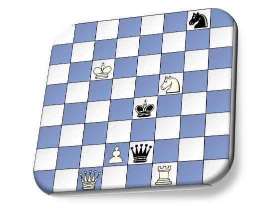 Juega el peón blanco (Alicia) y gana en 11 jugadas