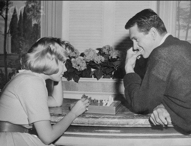 Cuando llegue septiembre (1961). Rock Hudson con Sandra Doe. Foto: Pinterest.