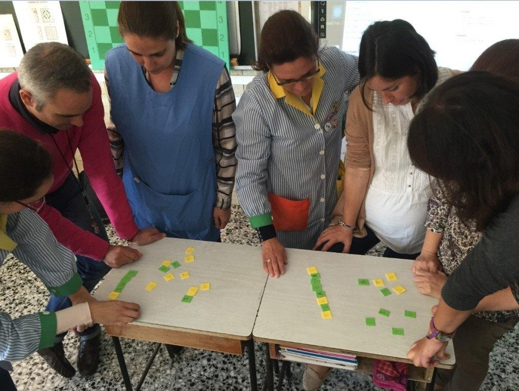Formación para docentes de ajedrez educativo en el ciclo de Infantil del colegio La Presentación (Málaga)
