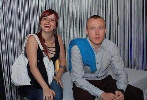 Inés Goñi junto a Ponomariov. Foto: ChessBase