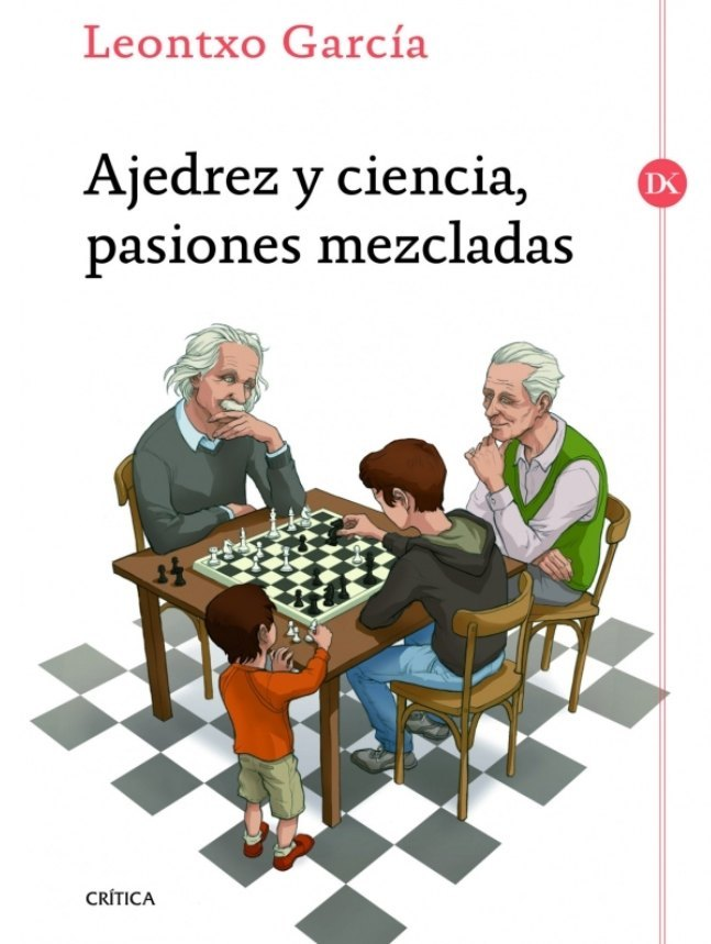 Cubierta de Ajedrez y ciencia, pasiones mezcladas