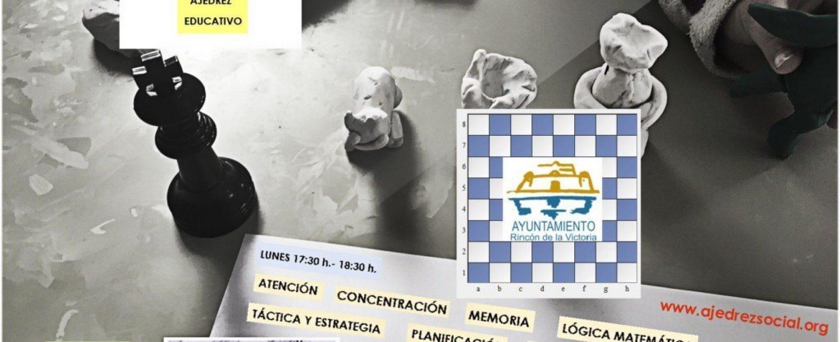 Nueva temporada de la Escuela Municipal de Ajedrez de Rincón de la Victoria