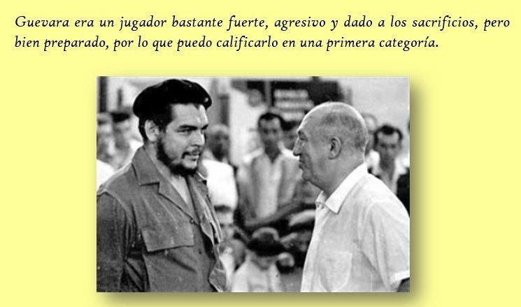 El Che y Miguel Nadjorf