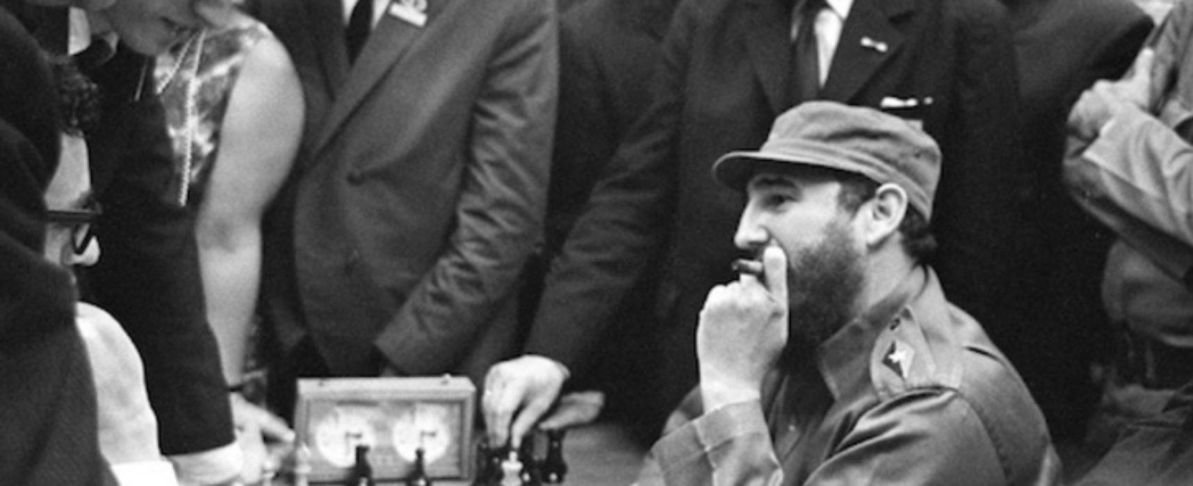 El día en que Fidel Castro derrotó a Bobby Fischer