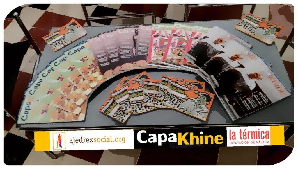 Los asistentes fueron obsequiados con ejemplares de la magnífica revista Capakhine