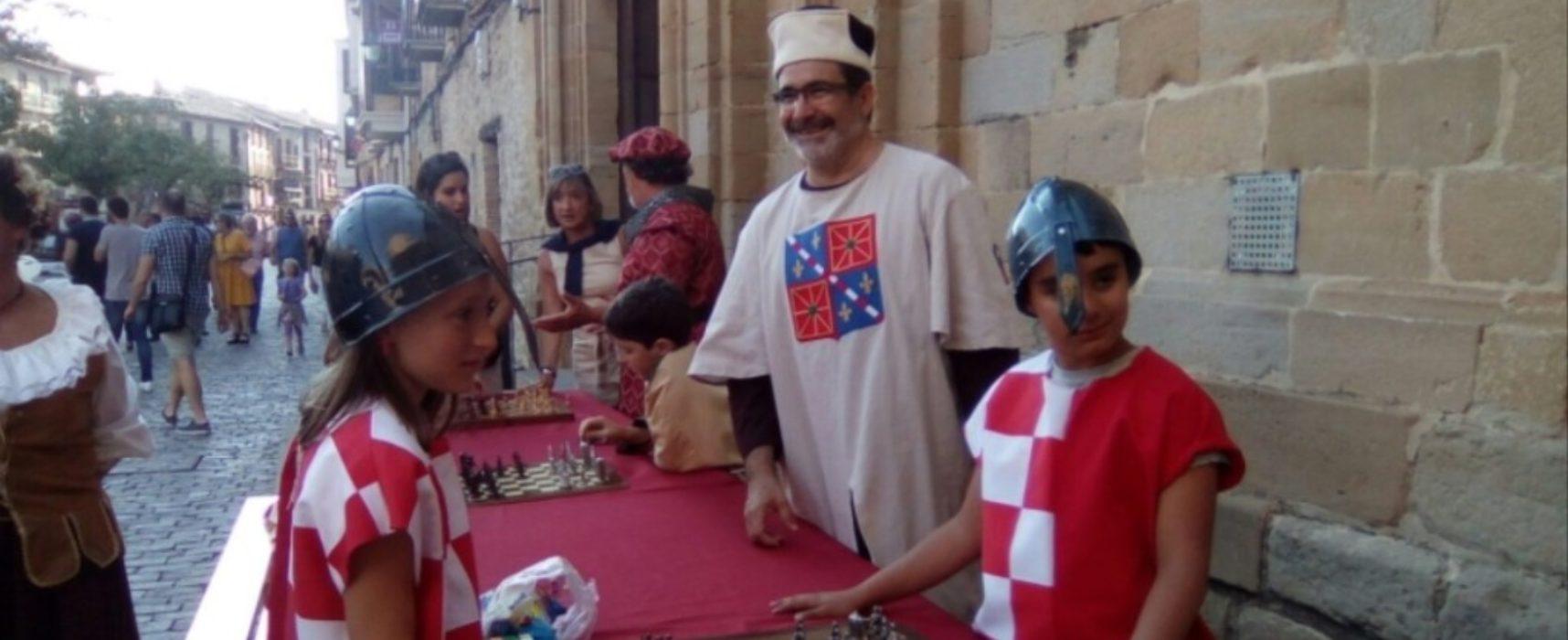 Julián Pérez (Olite Chess): 'Sin emociones no hay aprendizaje y el ajedrez en el aula las genera a borbotones'