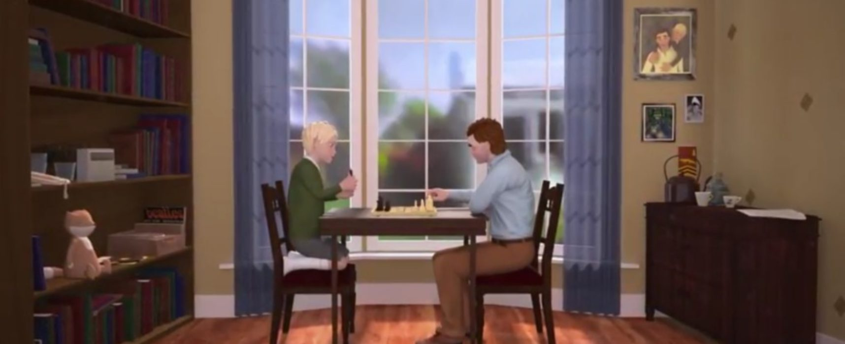 J´adoube, un precioso corto de ajedrez de Jessica Kersey-Preston
