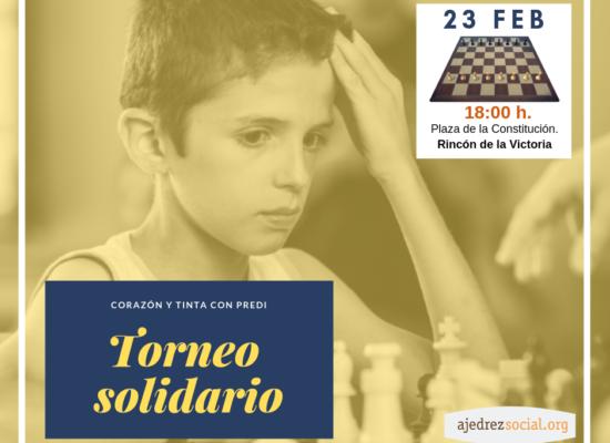 """Torneo solidario """"El ajedrez de Predi"""" (23.02.19)"""