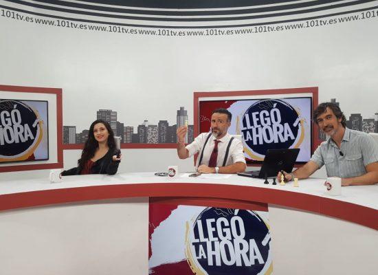 Damaris Abarca en 101TV