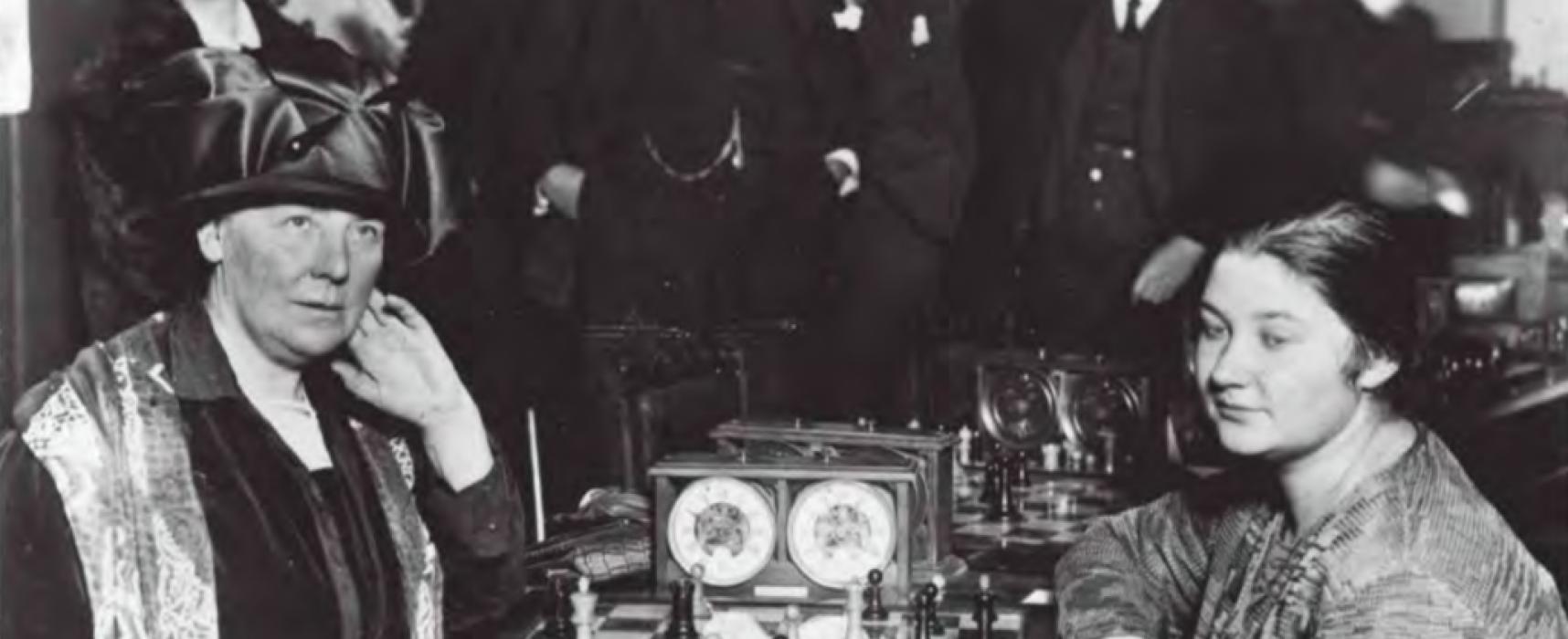 Vera Menchik, la mujer que dio el primer jaque al machismo