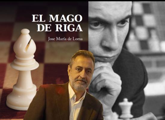 Jose Mª de Loma, autor de 'El mago de Riga': «A Tal lo dieron por muerto y él, sin más, se lo tomó con humor»