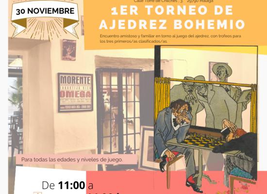 I Torneo Ajedrez Bohemio (30.11.19)
