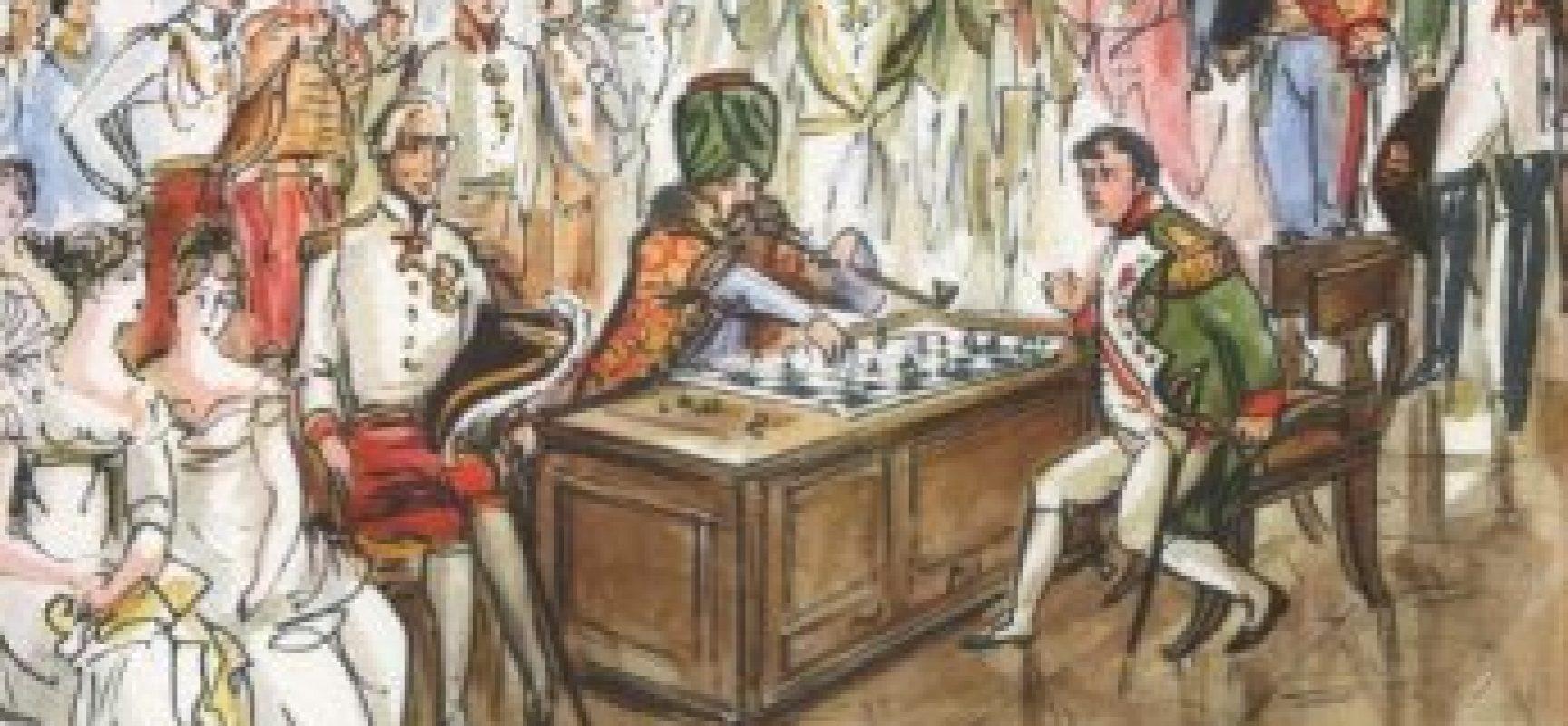 El autómata ajedrecista que derrotó a Napoleón