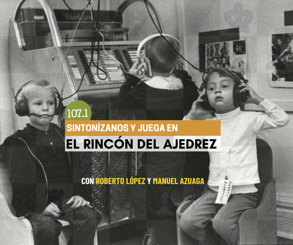 Flayer radio y ajedrez