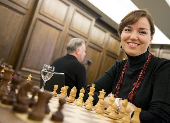 Sabrina Vega, campeona de España, en los ciclos de ajedrez de La Térmica (20/oct)