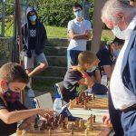 Xavi Mompel, ajedrecista de 11 años: «Me gustó hacer tablas con Kárpov, pero enseguida me puse de nuevo a entrenar»